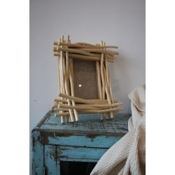 Bilderrahmen Holzfragmente