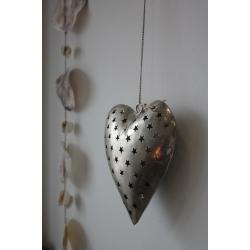 Herz-Hänger aus Metall