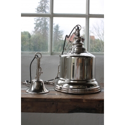 Lampe silber