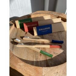 Gallegio Bambus Zahnbürsten