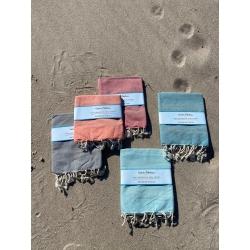 Strandtuch klein 5 Farben Vintage