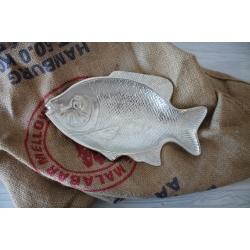 Fisch silber 2 Größen
