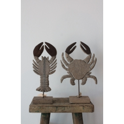Holz-Krabbe / -Hummer