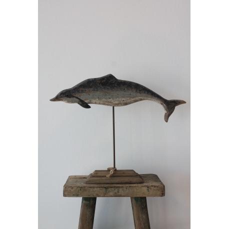 Holz-Delfin in 2 Größen