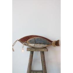 Holz-Fische zum Hängen