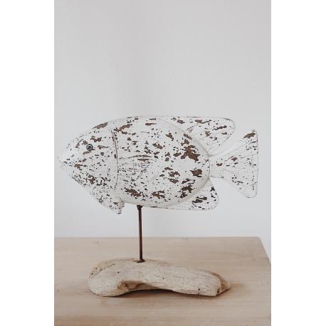 Skulptur Fisch