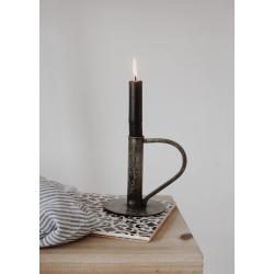Kerzenhalter grau