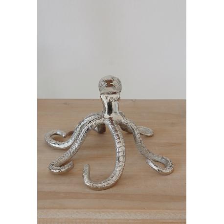 Silberner Oktopus