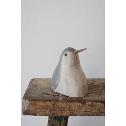 Holz-Pinguin