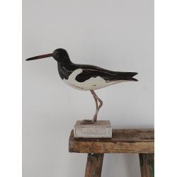Maritimer Vogel aus Holz