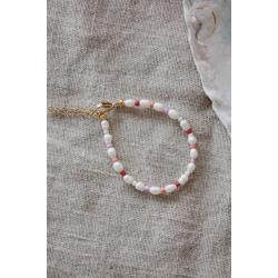 Pearl bracelet beads