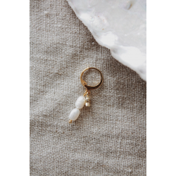Hoop beads gold 51