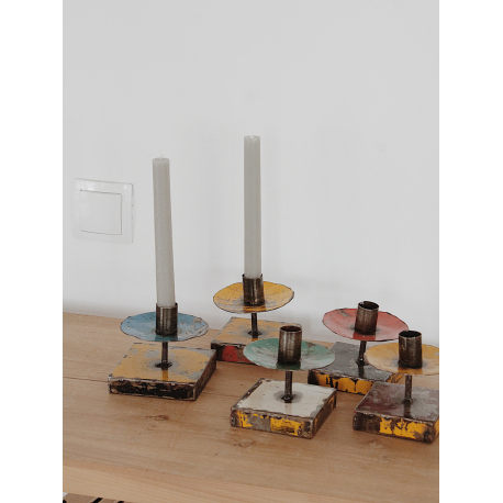 Industrial Kerzenhalter (Überraschungsdesign)