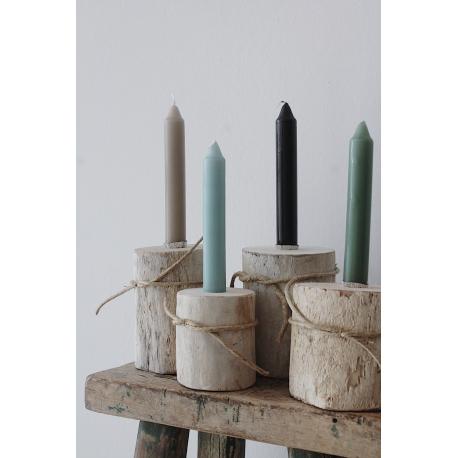 Kerzenhalter aus Holz (Unikate)