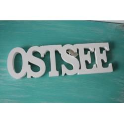 """Wort """"OSTSEE"""" weiß"""