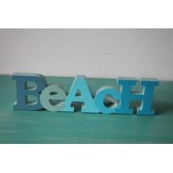 "Wort ""BEACH"""