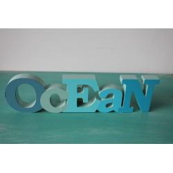 """Wort """"OCEAN"""""""