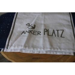 """Tischläufer """"Ankerplatz"""" blau"""